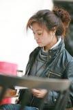 Mujeres asiáticas jovenes Imágenes de archivo libres de regalías