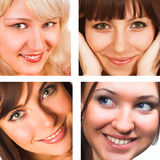 Mujeres atractivas Imágenes de archivo libres de regalías