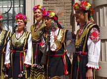 Mujeres cantantes búlgaras Imagen de archivo libre de regalías
