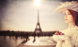 Mujeres con el caramelo Fotos de archivo libres de regalías