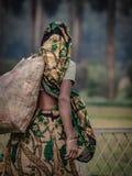 Mujeres con forma de vida diaria en Bangladesh imágenes de archivo libres de regalías