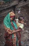 Mujeres con forma de vida diaria en Bangladesh foto de archivo libre de regalías