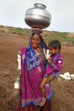 Mujeres de Banjara en la India Imagen de archivo libre de regalías