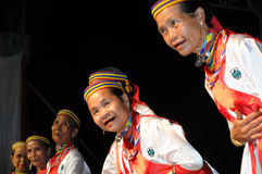 Mujeres de Bidayuh Foto de archivo