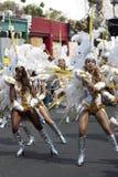 Mujeres de Caribean en el carnaval de Notting Hill Imágenes de archivo libres de regalías