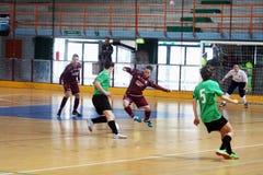 Mujeres de Futsal Foto de archivo libre de regalías