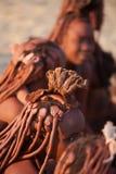 Mujeres de Himba Imagen de archivo libre de regalías