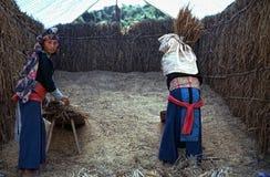 Mujeres de Hmong Imagenes de archivo