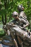 Mujeres de la guerra de Vietnam conmemorativas Imagen de archivo libre de regalías