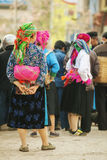 Mujeres de la minoría étnica Fotos de archivo libres de regalías