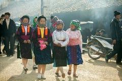 Mujeres de la minoría étnica Fotos de archivo