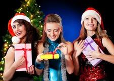Mujeres de la Navidad Foto de archivo