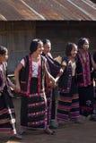 Mujeres de la tribu de Lahu Foto de archivo libre de regalías