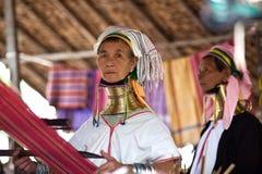 Mujeres de la tribu de Padaung Foto de archivo libre de regalías