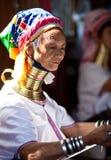Mujeres de la tribu de Padaung Fotografía de archivo