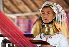 Mujeres de la tribu de Padaung Imagen de archivo libre de regalías