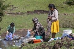 Mujeres de Mazahuas fotografía de archivo libre de regalías