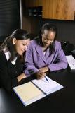 Mujeres de negocios Imágenes de archivo libres de regalías
