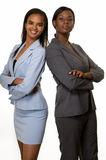 Mujeres de negocios fotografía de archivo
