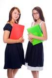 Mujeres de negocios jovenes Fotos de archivo libres de regalías