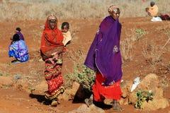 Mujeres de Samburu Fotos de archivo libres de regalías