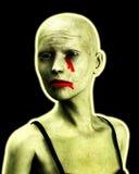 Mujeres de un zombi Fotos de archivo libres de regalías