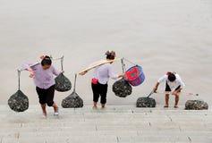 Mujeres de Xunpu fotografía de archivo