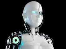 Mujeres del androide del robot Fotografía de archivo libre de regalías
