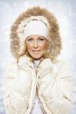 Mujeres del invierno Fotos de archivo libres de regalías
