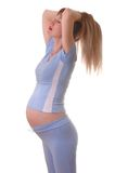 Mujeres embarazadas Fotos de archivo libres de regalías