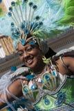 Mujeres en el carnaval de Notting Hill Fotos de archivo