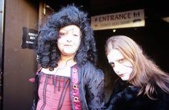 Mujeres en la alineada de lujo, Londres Imagen de archivo libre de regalías