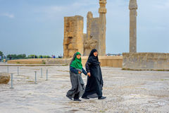 Mujeres en un hijab fotografía de archivo libre de regalías