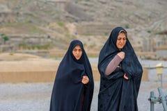 Mujeres en un hijab imágenes de archivo libres de regalías
