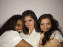 Mujeres felices fotos de archivo
