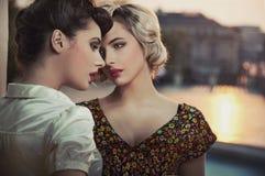 mujeres hermosas Fotos de archivo libres de regalías