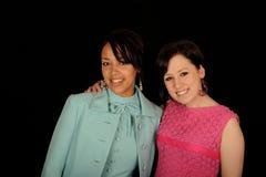 Mujeres hermosas Fotografía de archivo libre de regalías