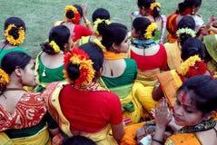 Mujeres indias Foto de archivo