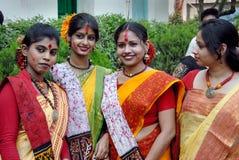 Mujeres indias Fotos de archivo