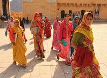 Mujeres indias Foto de archivo libre de regalías