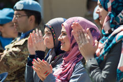 Mujeres libanesas Fotografía de archivo libre de regalías