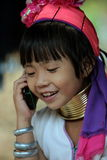 MUJERES LONGNECK DE ASIA TAILANDIA CHIANG MAI Imágenes de archivo libres de regalías