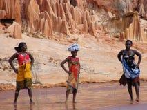 Mujeres malgaches nativas foto de archivo