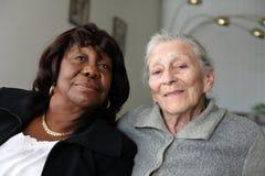 Mujeres mayores Imagenes de archivo