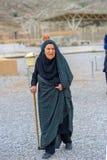 Mujeres mayores en un hijab, Irán fotografía de archivo