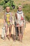 Mujeres mayores tribales de Bonda Foto de archivo libre de regalías