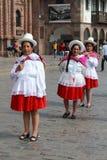 Mujeres peruanas imagen de archivo
