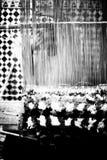 Mujeres que cosen las alfombras Foto de archivo libre de regalías