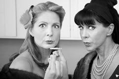 Mujeres que fuman a Weed Fotos de archivo