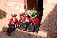 Mujeres quechuas Foto de archivo
